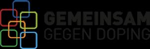gemeinsam gegen doping logo